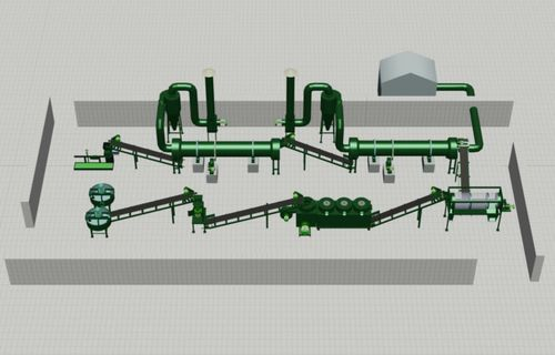 Organic Fertilizer Ball Pellets Production Line