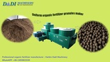 CE certificate compost organic fertilizer granulation making machine