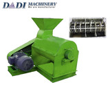 Semi-wet crusher for organic fertilizer production line