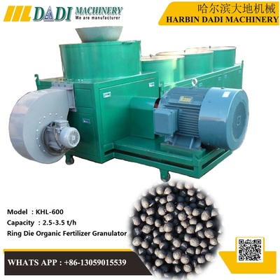 KHL-600 Organic Fertilizer Granulating Machine