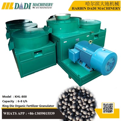 How to  make uniform ball shape organic fertilizer granules by ring die granulator?